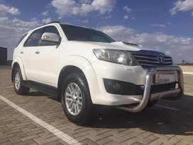 2012 Toyota Fortuner 3.0D-4D R/B A/T