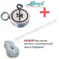 Поисковый магнит F200х2 Непра Россия двухсторонний.