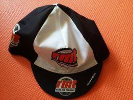 Nowa czapeczka kolarska pod kask z daszkiem rowerowa czapka