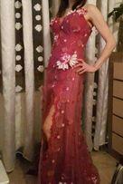 Продам выпускное платье с шлейфом