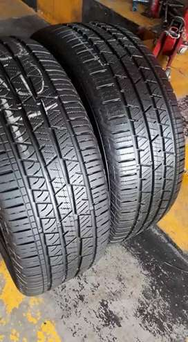 2×235/55/17 CONTINENTAL tyres for sale