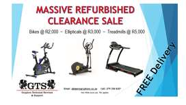 Refurbished REEBOK Fitness Equipment