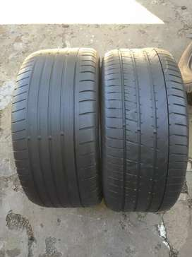 275/40/19 Runflat tyres for sell with about 80% life left on them