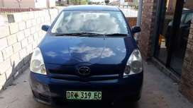 Toyota Corolla verso Its a running going to work with it