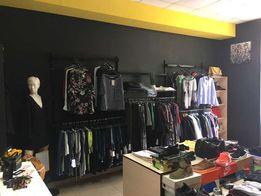 Торговое оборудование (мебель, стеллажи) для одежды и обуви