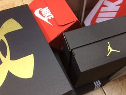 Коробки Nike красные Найк
