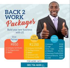 Back 2 Work Packages