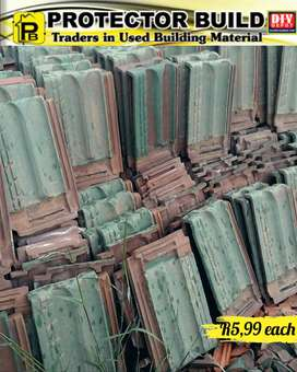 Painted corronation roof tiles for sale