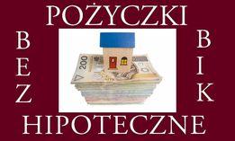 Bez BIK! Pożyczki prywatne pod hipotekę
