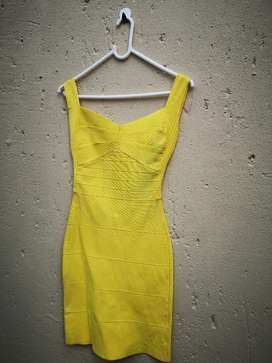 BodyCon Dress - Yellow