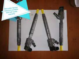 Mercedes Sprinter injectors