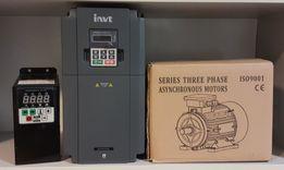 Частотний перетворювач, преобразователь частоты, частотный, 220/380В
