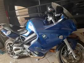 A very clean bmw bike f800st at reasonable price