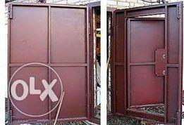 Продам металлические гаражные ворота под грузовик или автобус