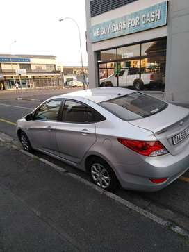 very clean and well looked after Hyundai accent just buy and drive