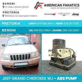 Selling used Jeep Grand Cherokee WJ ABS Pump and other parts!