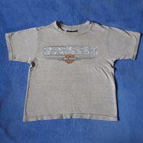 Chłopiecy t-shirt Harley Davidson broń to ride 7-8 lat