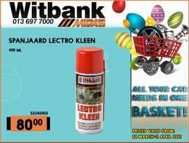 Spanjaard Lectro Kleen ONLY R80 at Midas Witbank!