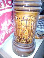 Kufle gliniane do piwa,pojemniki porcelana