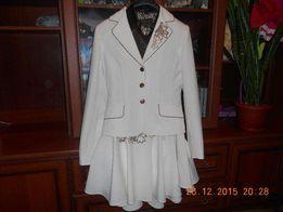 Нарядный костюм тройка(пиджак,брюки,юбка)