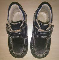 Кожаные классические туфли на мальчика, ботинки осенние, полуботинки.