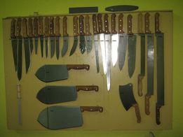 Ножи обвалочные для мяса, рыбы, овощей, масла, сыра.