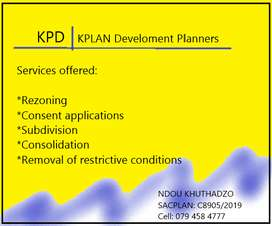 Town Planning services