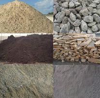 Достака щебеня песка шлака камня дикаря глины перегноя от 2 тонн Камаз