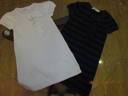 Нарядные платья h&m для девочки 4-6 лет.