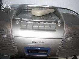 Магнитофон Panasonic RX-D29 обменяю на мобильный телефон или планшет