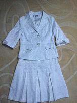 Zestaw, kostium r.36-spódnica, żakiet, gorset-Komunia, wesele