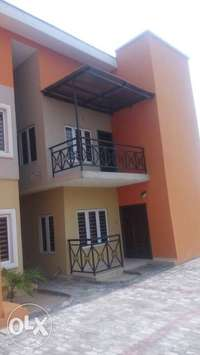 Three wings of detached duplex for sale in an estate at Okota Lagos 0