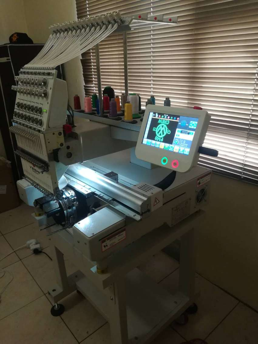 15 needles single head embroidery machine 0