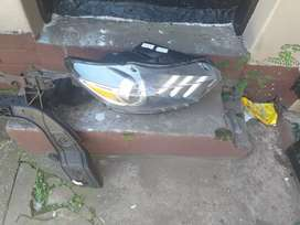 Ford mustang  right side headlight