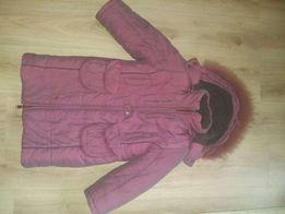 Детская курточка-пальто на пуху