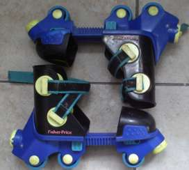 Roller Scates Adjustable Small to Medium Size. As good as new.