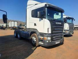 Scania R500 V8 double diff truck 6x4