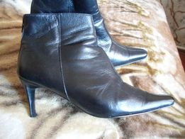 сапоги кожа (ботинки, полусапожки) 40-41 р 1200 р НЕ ПЕРЕСЫЛАЮ