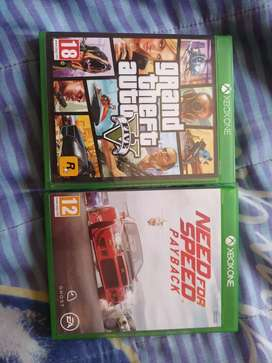 Gta v and nfs payback xbox one