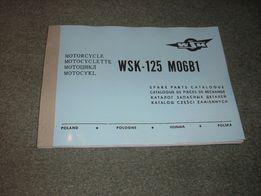 WSK 125 B1 - katalog części