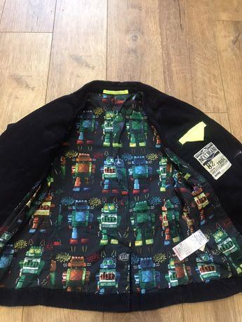 Вельветовый пиджак,Next,2-3 года Инженерный - изображение 2