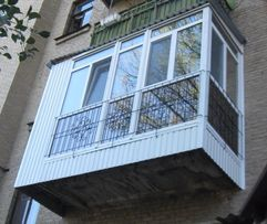 Балконы под ключ в Луганске, Алчевске, Краснодоне и др.