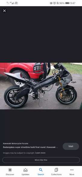 WANTED - ROLLING CHASSIS OR PROJECT SPORTS BIKE