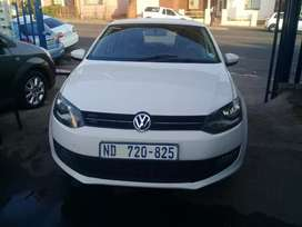 2013 Volkswagen Polo 6 1.4 with a leather seat