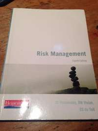 Image of BCom Risk Managment Fourth Edition Text book for sale