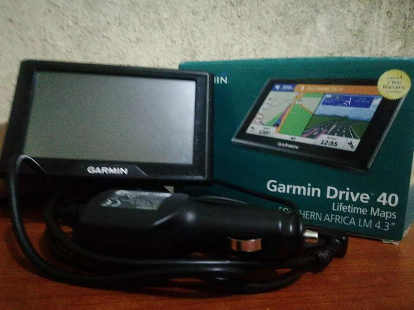 I'm selling this GerminbDrive 40 GPS 0