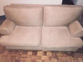 Urgent immigration sale 2x 2 seater Sutherland Home Furnishers sofas