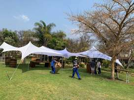 Tents, chairs, tables and decor services for hire