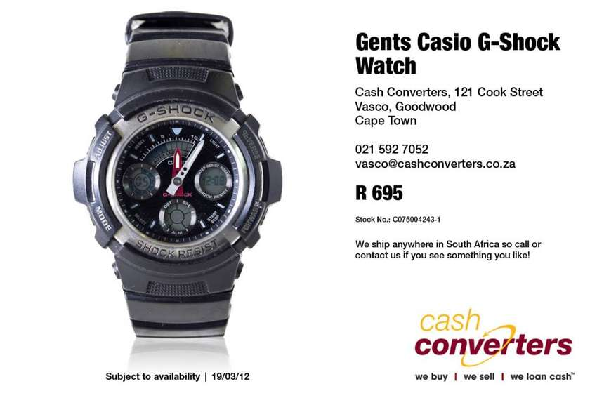 Gents Casio G-Shock Watch 0