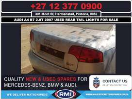 Audi A4 B7 2.0 T used rear tail lights for sale